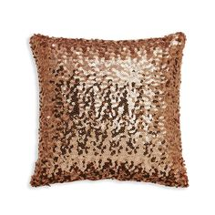 Glitterati Sequin Cushion Bronze 30 x 30cm