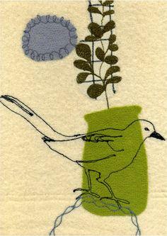 Maxine Sutton: happy bird