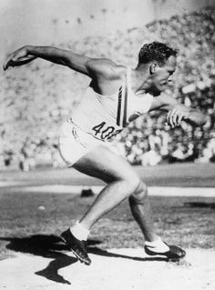 John F. Anderson, USA, Gold Medalist, Discus, Los Angeles, 1932.