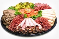 Cold Cut Party Platter Arrangements | Recipes : Pickle Platter