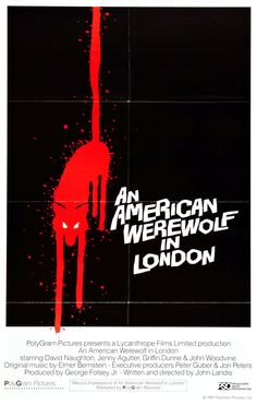 An American Werewolf in London (1981) - poster
