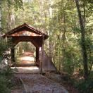 The Gaddy Covered Bridge on the Pee Dee River in Wadesboro, NC, minutes from Richmond County. Named for the man who originally began attempts to attract wildlife to the area. The Pee Dee National Wildlife Refuge was established in 1963. A definite must-see for those weekend getaways.