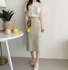 Korean Girl Fashion, Korean Fashion Trends, Ulzzang Fashion, Korean Street Fashion, Korea Fashion, Asian Fashion, Look Fashion, Daily Fashion, Fashion Cover