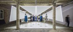 Felipe Oliveira Baptista exhibition at Museu do Design e da Moda in Lisbon . © Fernando Guerra