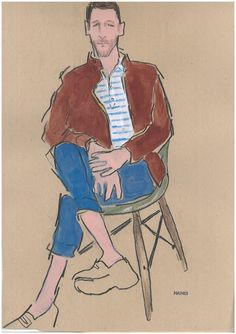 Illustration by Richard Haines for Unionmade SS12
