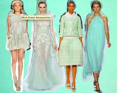 Cool Mint Color For Spring!