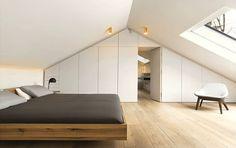 ❤️ voor de inbouwkasten en natuurlijk licht