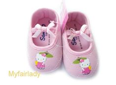 SALE ~ TODDLER BABY GIRL INFANT PINK KITTY CAT JAPAN MARY JANE SHOES GIFT 0-18M