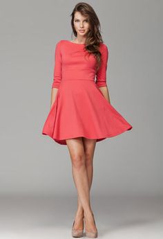 Sukienka Figl koral / Coral dress