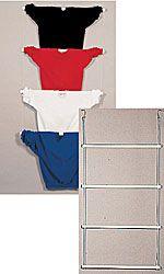 PVC Tubular Ladder Mannequins - White display or hang purses scarves etc