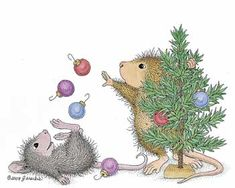 """""""Wishing you a Christmas filled with lighthearted fun."""" from House-Mouse Designs®"""