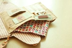 Sewing  Purse Bag Organizer. DIY Pattern & Tutorial.