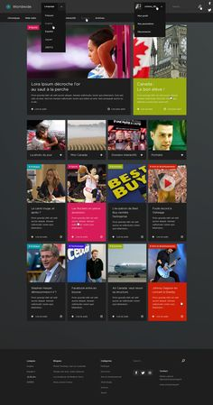 WORLDWIDE - Website template
