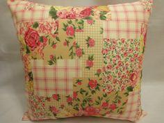capa almofada em patchwork - Pesquisa Google