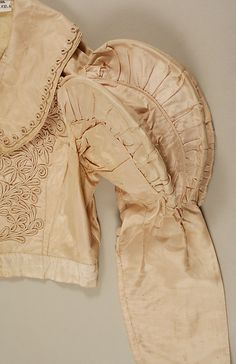Spencer Date: ca. 1820 Culture: British Medium: silk, willow Dimensions: Length at CB: 18 in. cm) Credit Line: Catharine Breyer Van Bomel Foundation Fund, 1987 Accession Number: Historical Costume, Historical Clothing, Regency Dress, Regency Era, Vintage Outfits, Vintage Fashion, Quoi Porter, Jeanne Lanvin, Antique Clothing