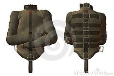 Straight jacket by Deviney, via Dreamstime