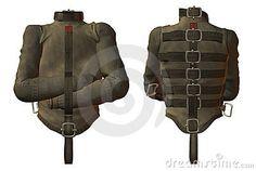 Straight jacket by Deviney, via Dreamstime