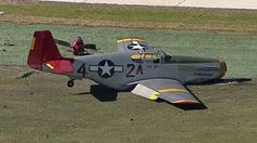 """""""Earlier today, the CAF Red Tail Squadron's P-51C experienced a gear-up landing at Dallas Executive Airport,"""" said Stephan C. Brown, president and CEO of the CAF. """"Pilot and Squadron Leader Bill Shepard was uninjured. The aircraft sustained substantial damage, but we will start the restoration process shortly. As with the Tuskegee Airmen she honors, this airplane will 'Rise Above' to 'Triumph Over Adversity' and fly again. We appreciate the many messages of concern received today."""""""