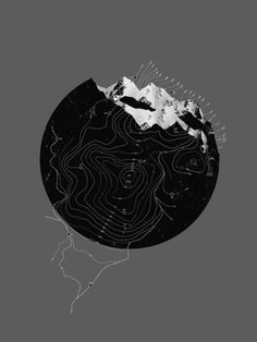 SHAPE || NEGATIVE || MOUNTAINS elevation [topography]