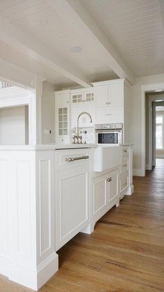 Home - Pioneer Cabinetry Apron Front Sink, White Quartz, Quartz Countertops, Estate Homes, Kitchen Cabinets, Flooring, Design, Home Decor, Decoration Home