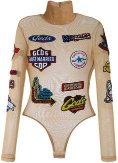Gcds branded bodysuit