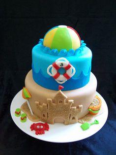 Beach Cake by robin33smith, via Flickr