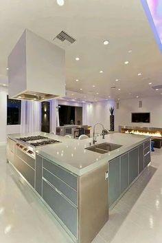 Prachtige, licht en luxe keuken