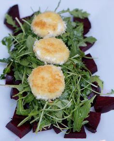 The Cottage Cook: Fried Goat Cheese & Beet Salad