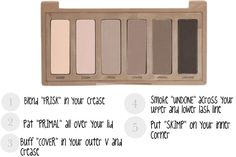 "Cool-toned neutral smokey eye tutorial using the ""Naked 2 Basics Palette"""