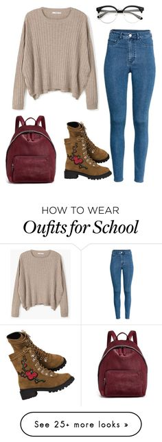 """School House Rock"" by catherine-elizabeth-iii on Polyvore featuring MANGO, STELLA McCARTNEY and H&M"