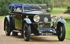 1929. Alfa Romeo 6 C Turismo. 6 Cil. en línea. 1750 cc. 46 HP a 4400 RPM. 109 km/h.