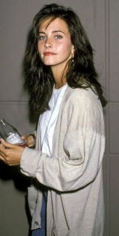 Courteney Cox (young) as Monica E. Geller-Bing