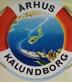 1958 Aage Rasmussen Aarhus Kalundborg by OutofCopenhagen on Etsy