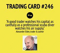 A good trader...