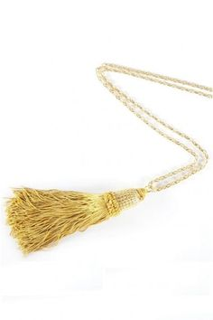 Gold Tassel Link Necklace By Hendrikka Waage. #Icelandic #Fashion #Style #Lastashop