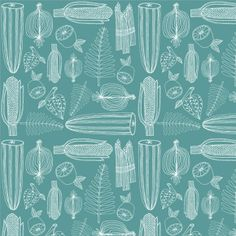 "Lisa Congdon Art + Illustration » ""harvest"" pattern collection"