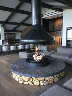 Gallery | Custom Fireplace Design Indoor Gas Fireplace, Suspended Fireplace, Cabin Fireplace, Custom Fireplace, Fireplace Design, Outdoor Wood Burner, Rustic Sunroom, Indoor Fire Pit, Bbq Hut