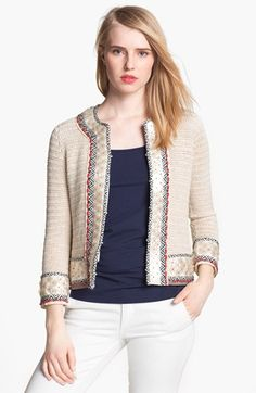 Inspiration.  Tory Burch Donovan Embellished Jacket | Nordstrom