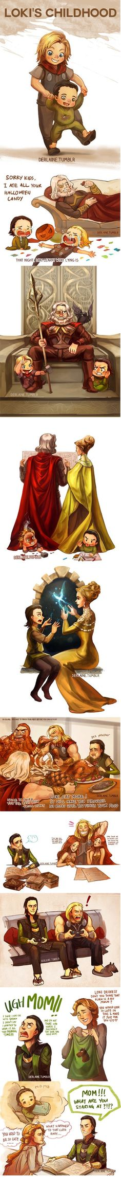 Loki's Childhood