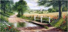 terry harrison paintings | biography terry harrison studied at farnham art school and started to ...