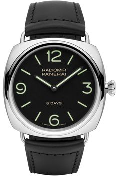 Radiomir Black Seal 8 Days Acciaio - 45mm PAM00610 - Collection Radiomir - Officine Panerai Watches