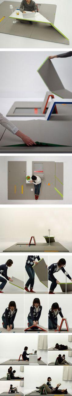 Développé par Shin Yamashita, jeune étudiant japonnais en design industriel à l'institut technologique de Kyoto, le « Land peel » se présente sous la forme d'un tapis ayant pour particularité d'int…