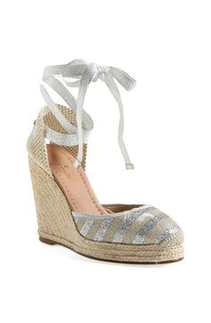 kate spade new york 'santorini' wedge espadrille available at #Nordstrom
