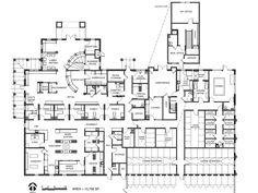 Veterinary floor plan: Bit & Spur Animal Hospital