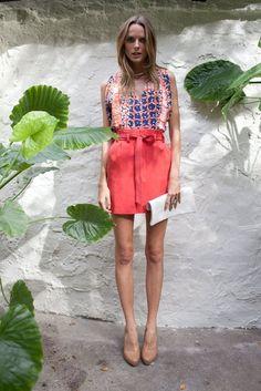 tangerine shorts