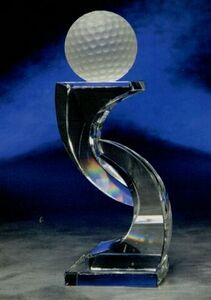 "Annika Crystal Award (8"")"