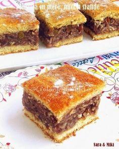 Romanian Desserts, Romanian Food, Romanian Recipes, Banana Bread, Cake Recipes, Sweet Treats, Food And Drink, Cooking Recipes, Yummy Food