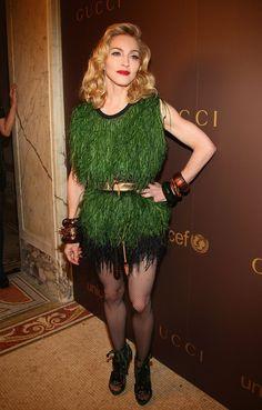 Pin for Later: De Geisha à Cow-Girl, en Passant Par Punk-Lady, Retour sur les Moments Mode les Plus Fous de Madonna  En 2008.
