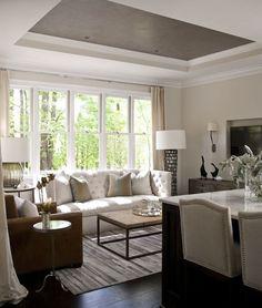 balinese inspired contemporary zen living room, serene decor