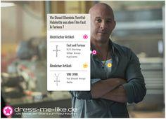 Vin Diesel (Dominic Toretto) Halskette aus dem Film Fast & Furious 7